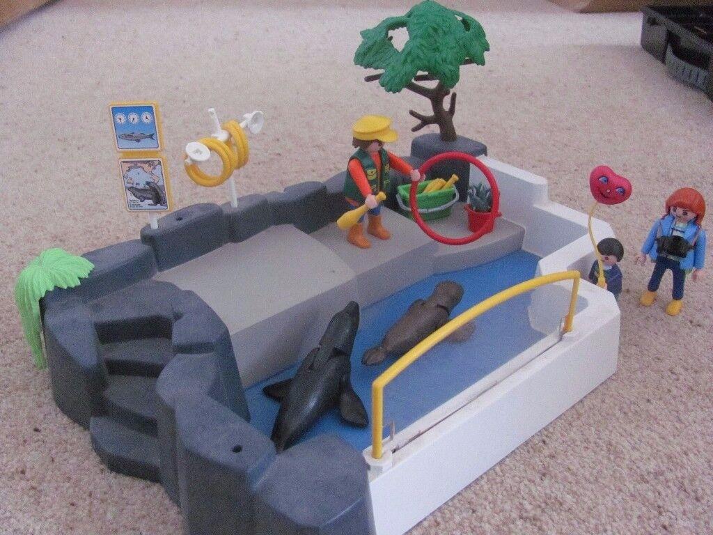 playmobil seal pool