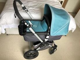 Bugaboo Cameleon 3 with footmuff and accessories