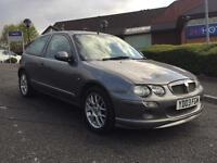 MG ZR+ 1.4 2003 GENUINE LOW MILEAGE LEATHER REMOTE CENTRAL LOCKING STARTS AND RUNS EXCELLENT!