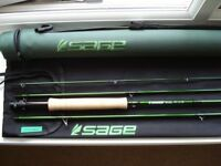 SAGE ACCEL FLY ROD 9ft line #6 in unmarked/unused condition