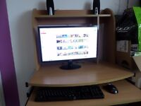 Computer with Monitor Acer 21'3