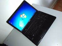"TOSHIBA LAPTOP 15,6"" - 4 GB - (AMD) - WIN 7 - WARRANTY - DELIVERY - OFFICE"