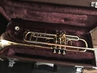 Trumpet with case Yamaha in great condition