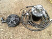 Fish/Koi pond pump and filter