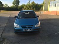 HYUNDAI GETZ GSI 1.3cc 5 door h/back 54/2004 1 keeper from new 122k part service history/invoices 9