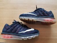 Nike Air Max 2016 Trainers size 6. Very Good condition