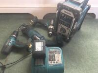 Makita two drills and a charger nothing else