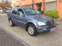 Mercedes ML270 cdi 04 plate Automatic tow bar leathers good condition £1150