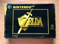 The legend of Zelda ocarina of time n64