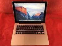 Macbook Pro 13 inch A1278 2GHz Intel Core 2 Duo 4GB RAM 500GB 2008 + WARRANTY, NO OFFERS - L666