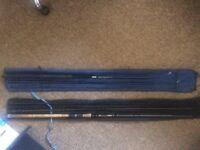 2x fishing rods