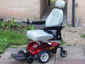 Pride Jazzy Electric Power Wheelchair. Warranty. Free Delivery. Mint Condition.