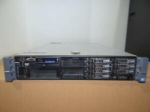 DELL PowerEdge R710 Server - 2x Xeon Hex Core 3.46GHz (X5690) - 128GB RAM  8X600GB SAS 10K 2.5 Hard Drives- PERC 6i RAI