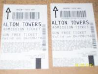 Fancy A Day Out to (Alton Towers)