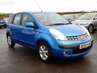 2007 Nissan note 1.4 petrol with only 71000 miles, motd jan 2018