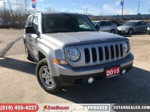 2015 Jeep Patriot Sport/North | 4X4 | ONE OWNER