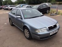 2003 Skoda Octavia 1.9tdi,120k,9 moths mot,ac,cd loader,good engine,very economical and reliable.