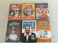 Comedy books & DVDs joblot.