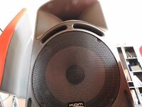 "KAM 15"" SPEAKERS (LARGER THAN YOUR AVERAGE CAB)"