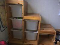 Trofast storage