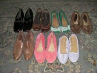 Seven Pairs of Ladies Shoes Size 5
