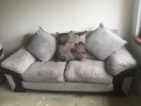 3 Seater Sofa and 2 Seater Snuggle Couch - Near Perfect Condition