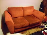 Dark Red double sofa