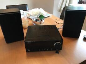 DAB radio with iPod dock