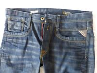 """Mens Replay R81 Style Jeans Sakala 34"""" Waist 34"""" Leg - New without tags £25"""