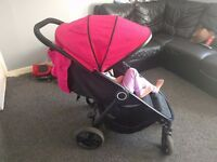 Lovely spacious pushchair!