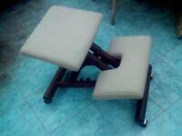 Genuine Norwegian kneeling chair by Balans