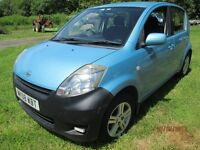 Blue small automatic hatchback,clean and tidy.