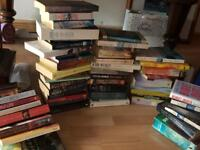 Second hand books - variety of paperbacks- approximately 60 books