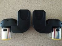 iCandy Peach Blossom lower car seat adapters. Maxi-Cosi compatible