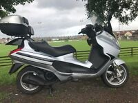 2007 PIAGGIO X8 BIG TOURING SCOOTER LONG MOT VERY CLEAN ONLY £999 AT KICKSTART MOTORCYCES