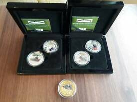 Flying Scotsman collectors coins limited edition