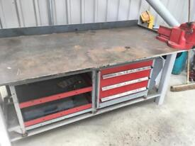 Toolbox and bench