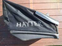 hayter Envoy 36 electric lawn mower box