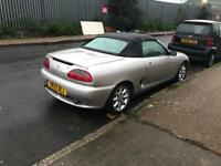 Mg MGF 1.8 petrol manual convertible low mileage excellent drive