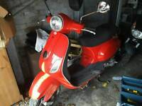 Piaggio vespa auto drive moped motorcycle scooter only 999