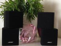 Twin Bose cubes very good condition