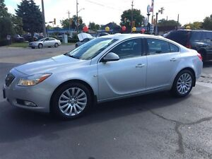 2011 BUICK REGAL CXL- SUNROOF, HEATED LEATHER SEATS, ALLOY WHEEL