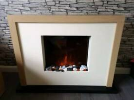 Next opus oak fire place
