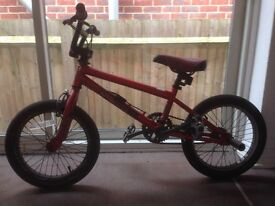 Kids/child's Haro BMX bike age 6-8