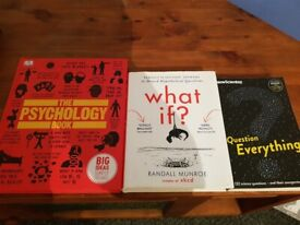 5 books for sale £10 for all