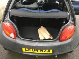 Black - 04 Plate - 1.3L Petrol Ford KA