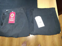 Two pairs of Pinders girls school trousers Springwell approved. New