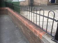 Slightly used hoop top fence panels
