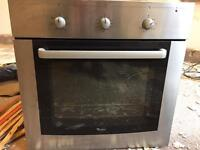 Whirlpool integrated electric oven