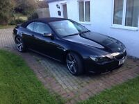 Bmw 645ci convertible auto (immaculate)